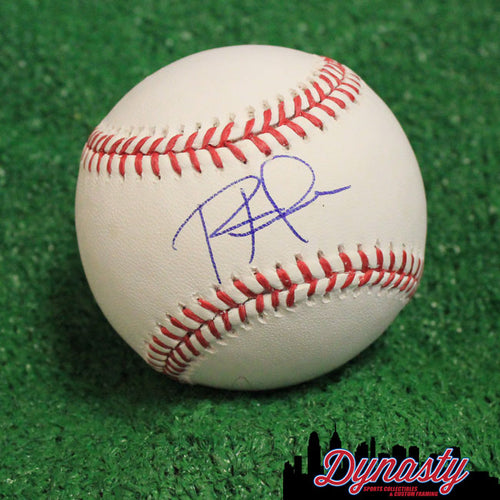 Rhys Hoskins Autographed Philadelphia Phillies Major League Baseball - Dynasty Sports & Framing