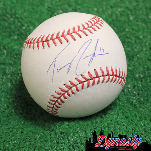 Texas Rangers Tommy Joseph Autographed Official Major League Baseball (White) - Dynasty Sports & Framing