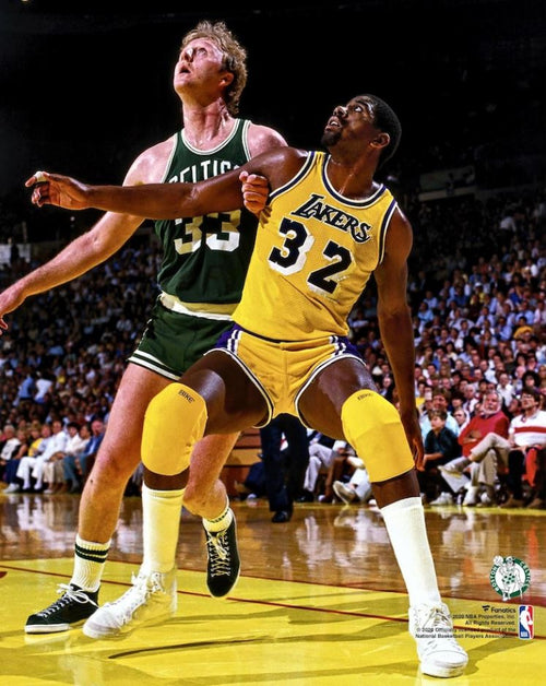 "Larry Bird v. Magic Johnson 8"" x 10"" Basketball Photo - Dynasty Sports & Framing"