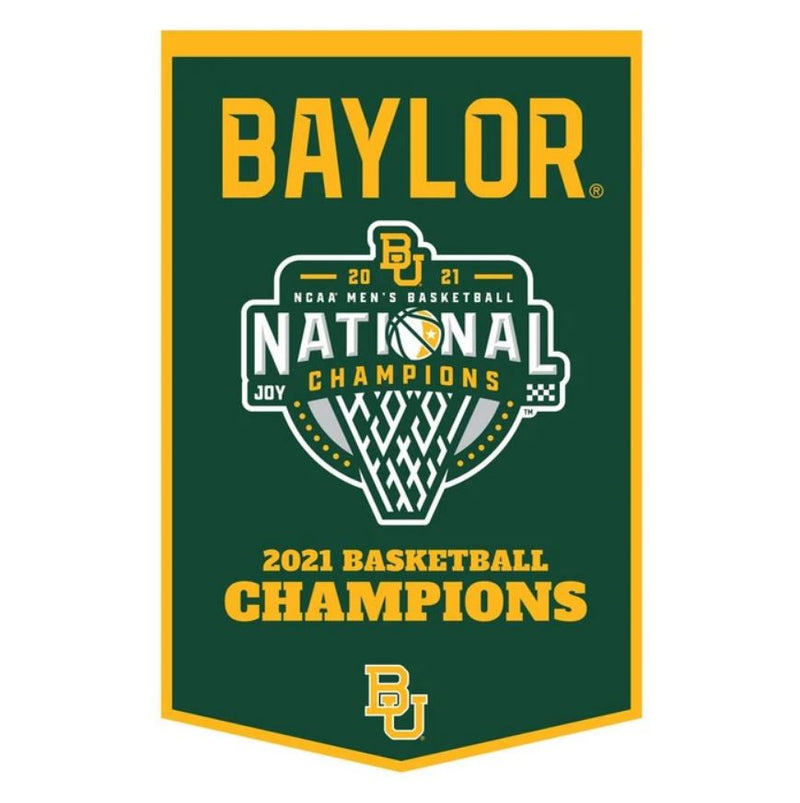 Baylor Bears College Basketball Dynasty Banner - Dynasty Sports & Framing