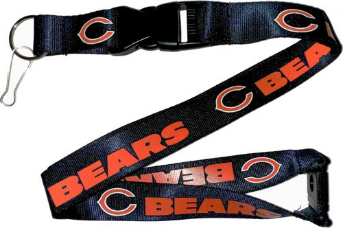 Chicago Bears NFL Football Breakaway Lanyard - Dynasty Sports & Framing