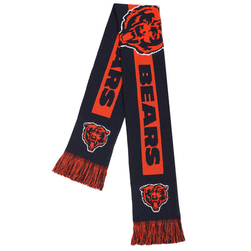 Chicago Bears NFL Football Big Logo Scarf