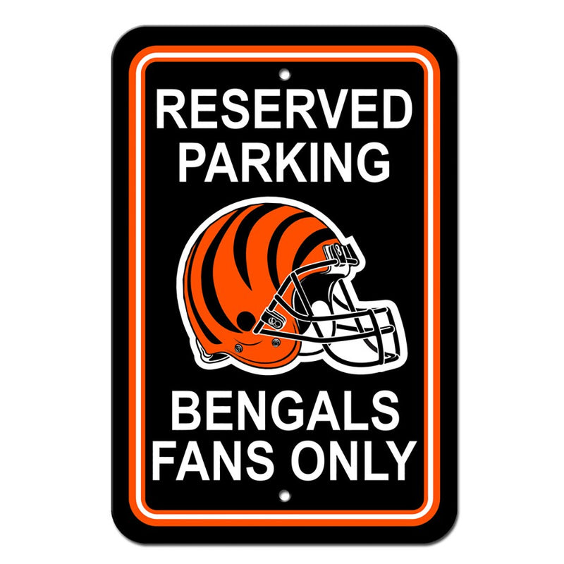 Cincinnati Bengals NFL Football Parking Sign - Dynasty Sports & Framing
