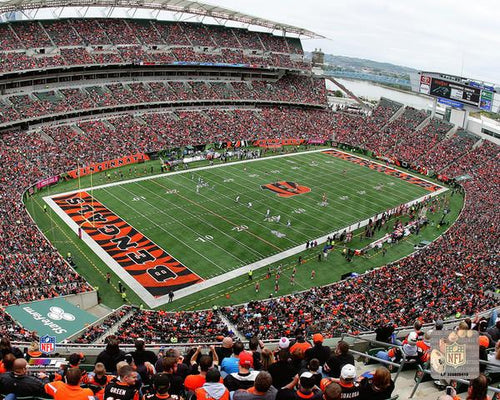 "Cincinnati Bengals Paul Brown Stadium NFL Football 8"" x 10"" Photo"