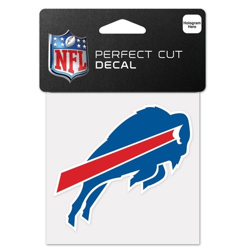 "Buffalo Bills NFL Football 4"" x 4"" Decal - Dynasty Sports & Framing"