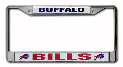 Buffalo Bills Chrome License Plate Frame - Dynasty Sports & Framing