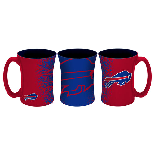 Buffalo Bills NFL Football 14 oz. Mocha Mug - Dynasty Sports & Framing