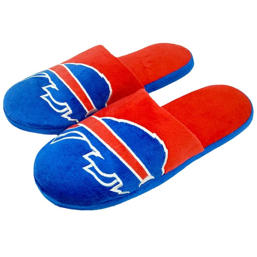 Buffalo Bills Colorblock Big Logo Slippers - Dynasty Sports & Framing