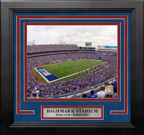"Buffalo Bills Highmark Stadium NFL Football 8"" x 10"" Framed and Matted Stadium Photo - Dynasty Sports & Framing"