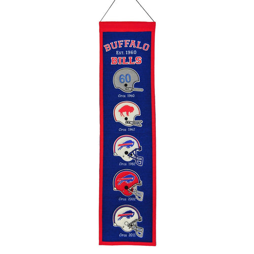 Buffalo Bills NFL Heritage Banner - Dynasty Sports & Framing
