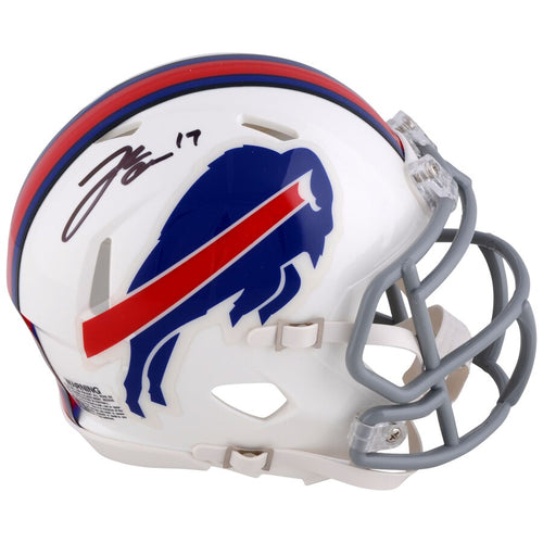 Josh Allen Buffalo Bills Autographed NFL Football Speed Mini-Helmet