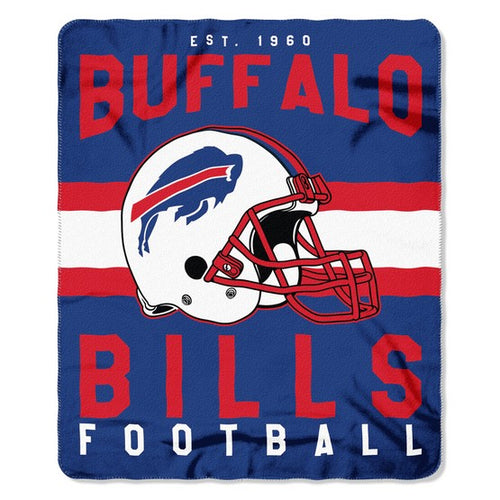 "Buffalo Bills NFL Football 50"" x 60"" Singular Fleece Blanket - Dynasty Sports & Framing"