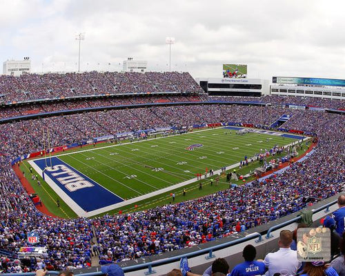 "Buffalo Bills New Era Field NFL Football 8"" x 10"" Stadium Photo - Dynasty Sports & Framing"