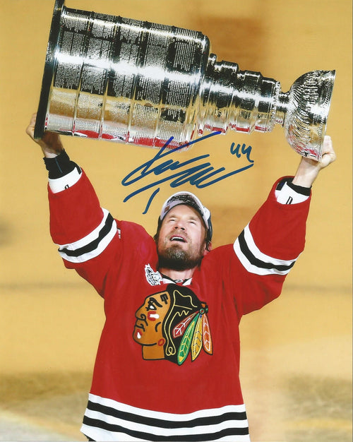 "Kimmo Timonen Chicago Blackhawks Autographed Stanley Cup NHL Hockey 16"" x 20"" Photo - Dynasty Sports & Framing"