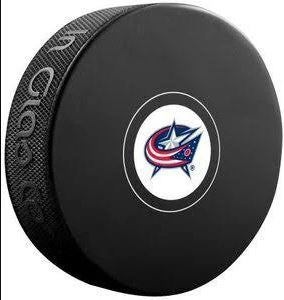 Columbus Blue Jackets NHL Hockey Logo Puck - Dynasty Sports & Framing