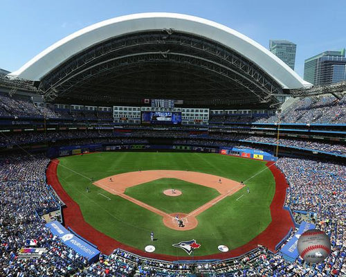 "Toronto Blue Jays Rogers Centre MLB Baseball 8"" x 10"" Stadium Photo - Dynasty Sports & Framing"