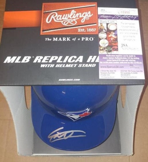 Toronto Blue Jays Vladimir Guerrero, Jr. Autographed Official Major League Baseball Full-Size Helmet