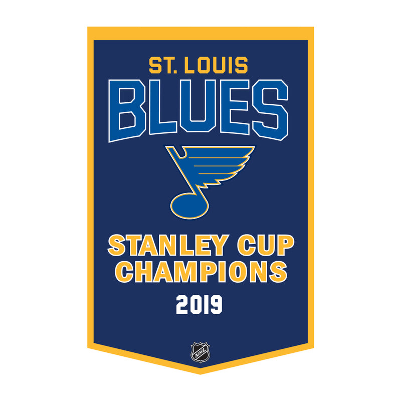 St. Louis Blues NHL Hockey Stanley Cup Wool Dynasty Banner