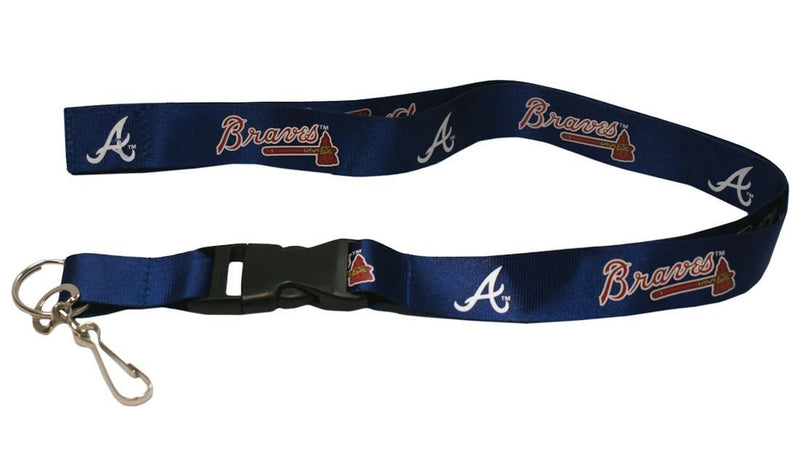 Atlanta Braves MLB Baseball Breakaway Lanyard - Dynasty Sports & Framing