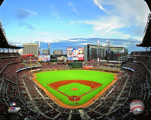 "Atlanta Braves Truist Park MLB Baseball Stadium 8"" x 10"" Photo - Dynasty Sports & Framing"