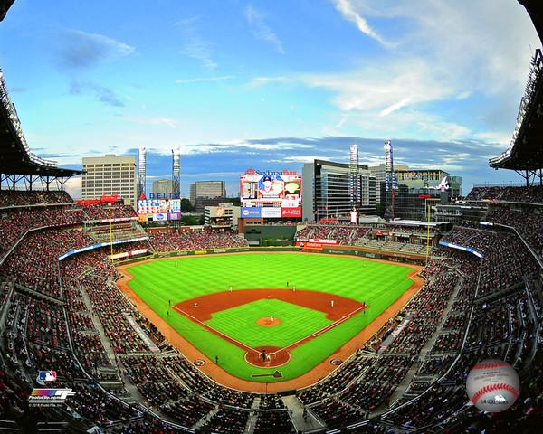 "Atlanta Braves SunTrust Park MLB Baseball Stadium 8"" x 10"" Photo"