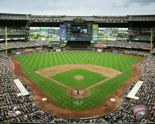 "Milwaukee Brewers Miller Park Stadium MLB Baseball 8"" x 10"" Photo - Dynasty Sports & Framing"