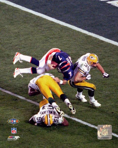 "Denver Broncos John Elway Super Bowl XXXII NFL Football 8"" x 10"" Photo - Dynasty Sports & Framing"
