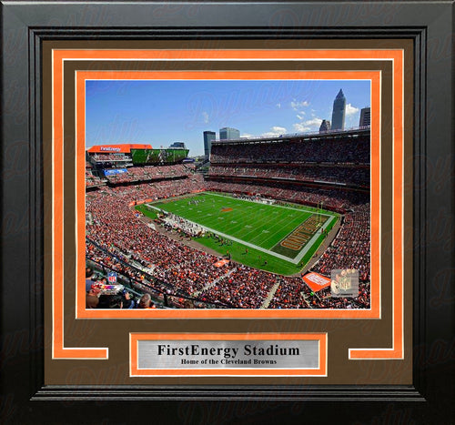 "Cleveland Browns FirstEnergy Stadium 8"" x 10"" Framed Football Photo - Dynasty Sports & Framing"