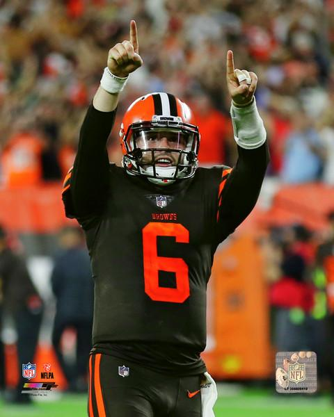 "Cleveland Browns Baker Mayfield First Win NFL Football 8"" x 10"" Photo - Dynasty Sports & Framing"