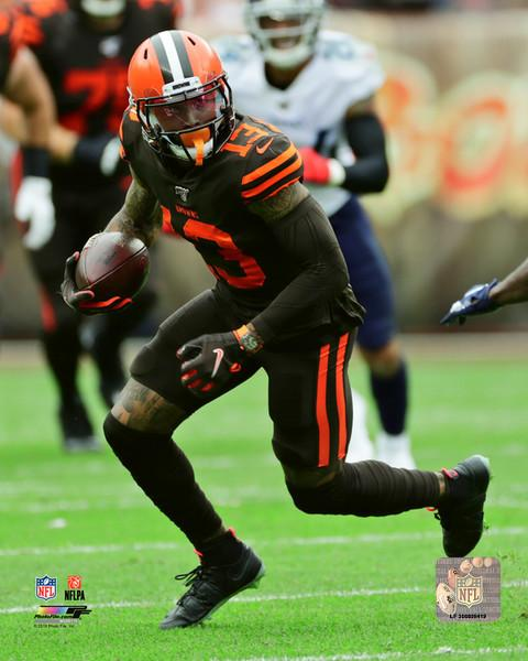 "Odell Beckham in Action Cleveland Browns NFL Football 8"" x 10"" Photo - Dynasty Sports & Framing"