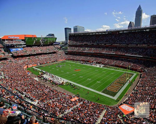 "Cleveland Browns FirstEnergy Stadium NFL Football 8"" x 10"" Photo"