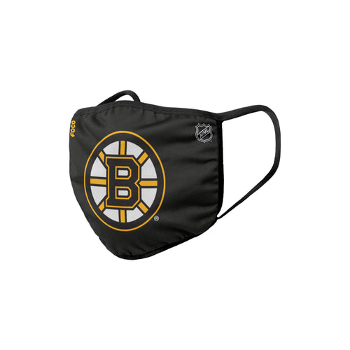 Boston Bruins Solid Big Logo Face Cover Mask - Dynasty Sports & Framing