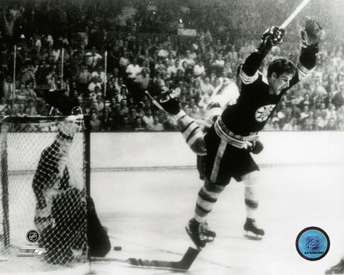 "Bobby Orr Boston Bruins 1970 Stanley Cup Game-Winning Goal & Leap NHL Hockey 8"" x 10"" Photo"