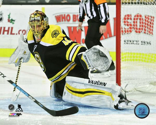 "Tuukka Rask Making a Save Boston Bruins NHL Hockey 8"" x 10"" Photo"