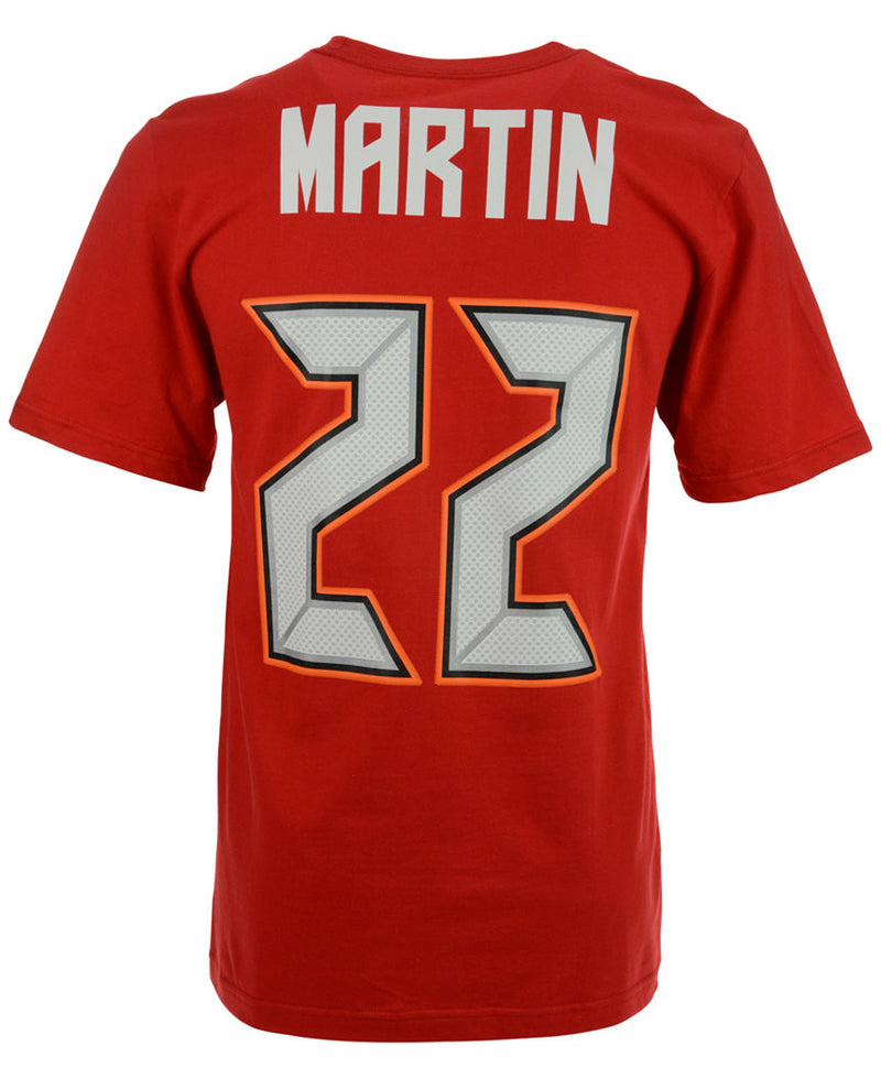 Tampa Bay Buccaneers Doug Martin Name & Number T-Shirt (Red) - Dynasty Sports & Framing  - 1
