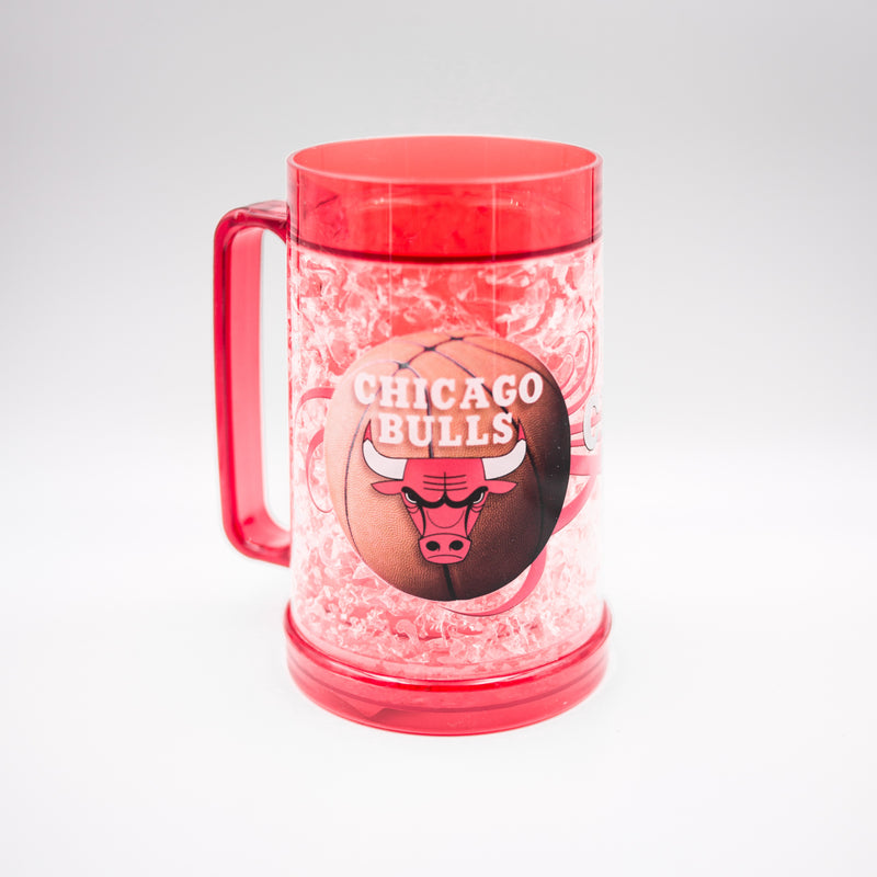 Chicago Bulls NBA Basketball Freezer Mug - Dynasty Sports & Framing