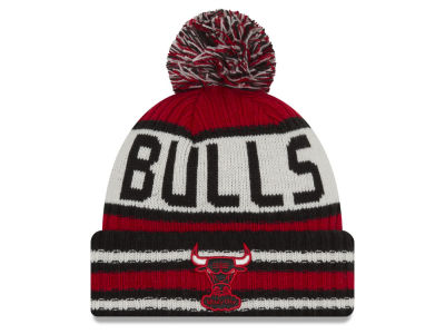 Chicago Bulls NBA Basketbell New Era Pom Winter Hat - Dynasty Sports & Framing