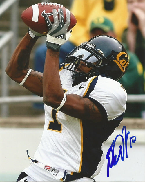 "DeSean Jackson in Action California Golden Bears Autographed NCAA College Football 8"" x 10"" Photo"