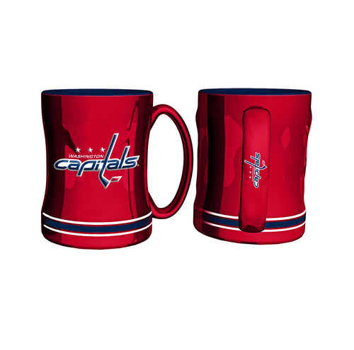Washington Capitals Hockey Logo Relief 14 oz. Mug - Dynasty Sports & Framing
