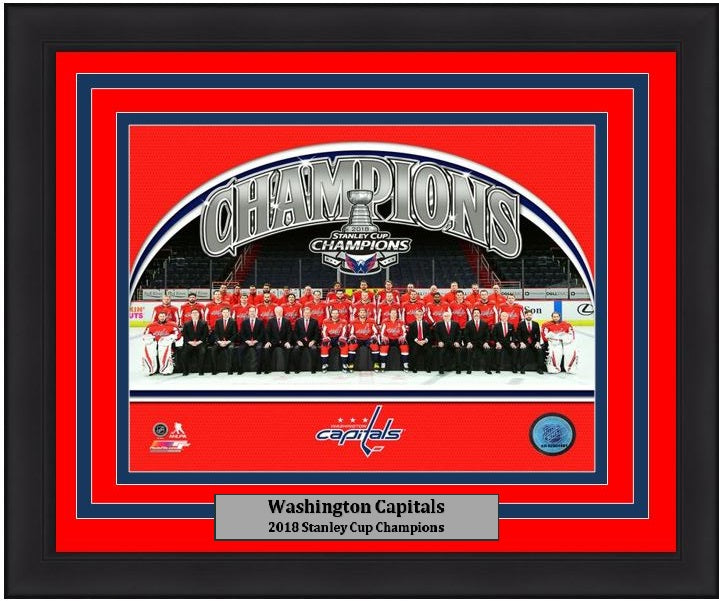 Capitals 2018 Stanley Cup Champions Team Photo 8x10 NHL Hockey ...