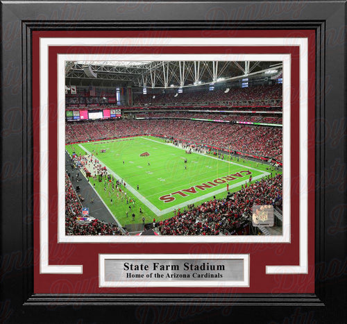 "Arizona Cardinals State Farm Stadium NFL Football 8"" x 10"" Framed and Matted Photo - Dynasty Sports & Framing"