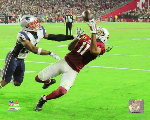 "Arizona Cardinals Larry Fitzgerald 100th Career Touchdown 8"" x 10"" Photo - Dynasty Sports & Framing  - 1"