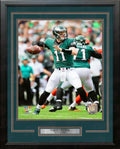 Carson Wentz First Career Win Philadelphia Eagles NFL Football Framed and Matted Photo - Dynasty Sports & Framing