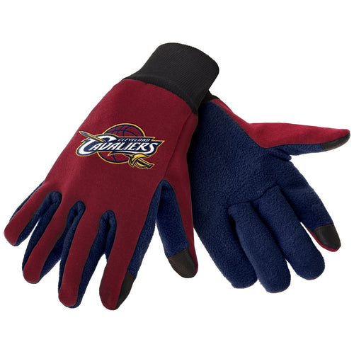 Cleveland Cavaliers NBA Basketball Texting Gloves - Dynasty Sports & Framing