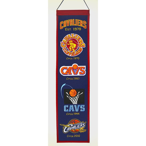 Cleveland Cavaliers NBA Heritage Banner - Dynasty Sports & Framing