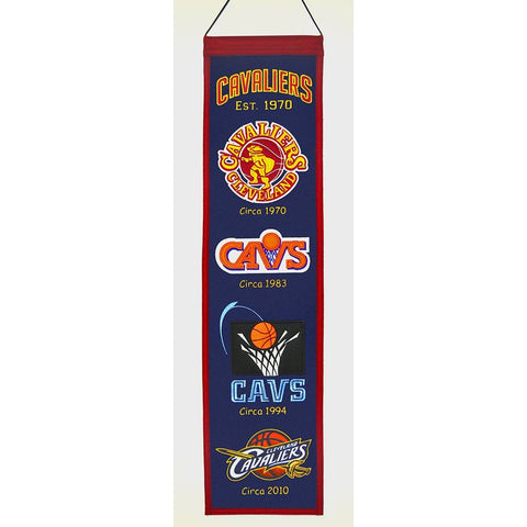 Cleveland Cavaliers NBA Heritage Banner