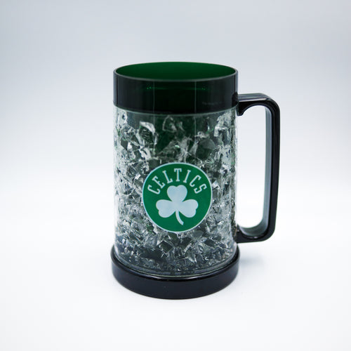 Boston Celtics NBA Basketball Freezer Mug - Dynasty Sports & Framing