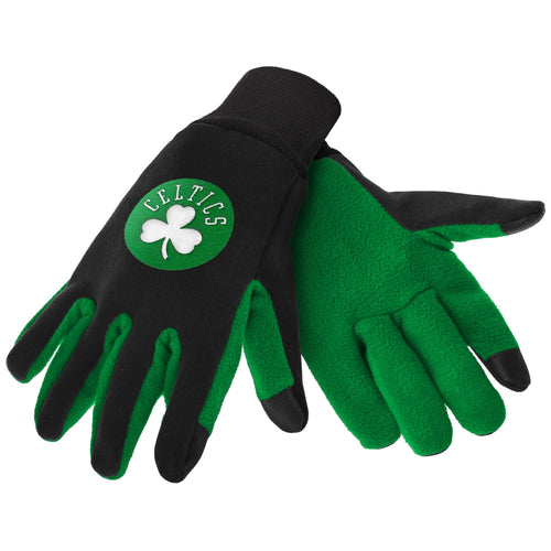 Boston Celtics NBA Basketball Texting Gloves - Dynasty Sports & Framing