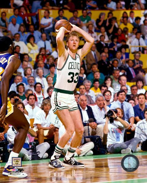 "Larry Bird Boston Celtics NBA Basketball 8"" x 10"" Photo - Dynasty Sports & Framing"