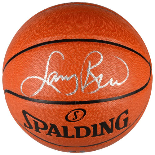 Larry Bird Boston Celtics Autographed Spalding I/O Basketball